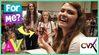 behind the scenes with youtubers in real life cvx live 2018 aud vlogs