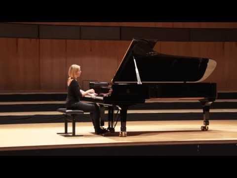 Annika Treutler plays Chopin Prélude op. 24, 13
