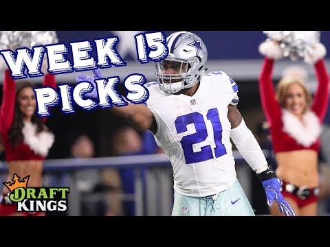 Week 15 NFL DraftKings Picks