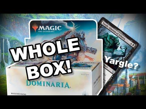 MTG - DOMINARIA Box Opening! Card Quality?