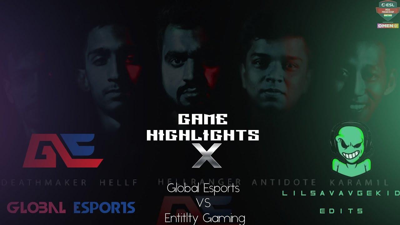 GE CS:GO || ESL Winter Finale || ETG VS GE de_train Higlights || lilsavagekid
