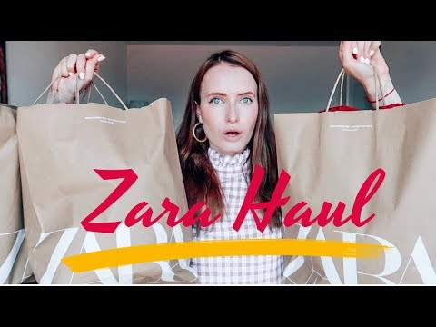 ZARA HAUL: TRY ON & STYLING VIDEO