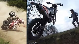 THE WORST ACCIDENTS! ENDURO! QUAD! OFFROAD!