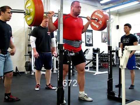 Smolov Base Mesocycle Results - 672 Raw Squat