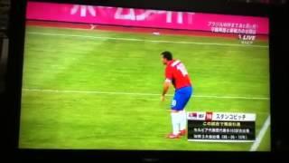 日本VSセルビア スタンコビッチ引退シーン
