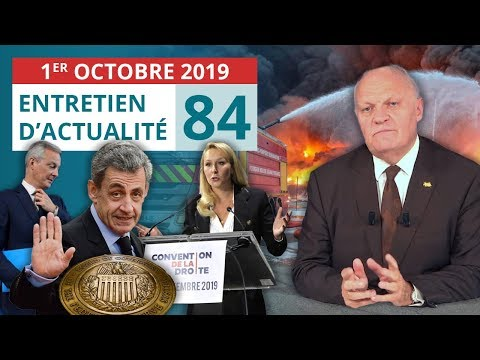 EA84: Catastrophe Lubrizol Rouen - Convention de droite - Sarkozy - La Fed - ISF