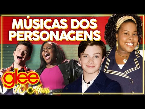 PRIMEIRA E ULTIMA A DE CADA PERSONAGEM EM GLEE Glee 10 anos  Alice Aquino