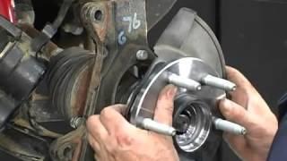Как заменить ступицу колеса