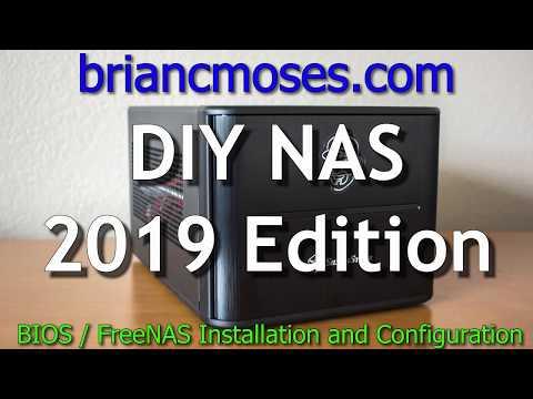 Home Server Build 2020.Diy Nas 2019 Edition Briancmoses Com