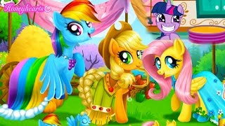 Baking with Twilight & Applejack + Horse Jumping - Let