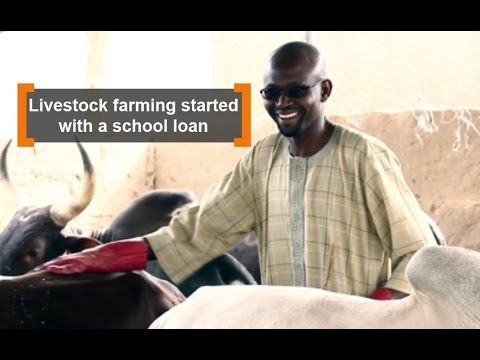 Burkina Faso: Livestock farming started with a school loan