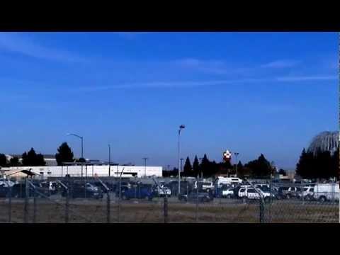Space Shuttle Endeavour Flyby, Moffett Field, Mountain View