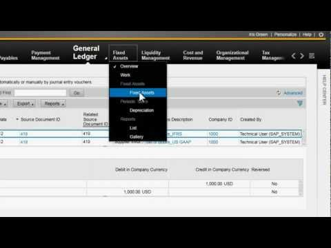 SAP Business ByDesign Financials Demo