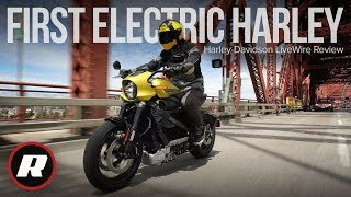 Harley-Davidson LiveWire Review: World's first ride on Harley's first electric motorcycle