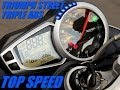 TRIUMPH STREET TRIPLE ABS - TOP SPEED (HD)