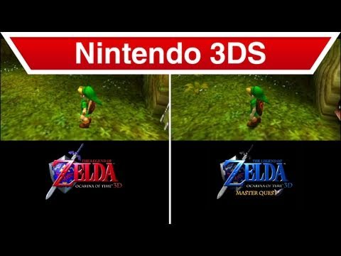 Nintendo 3DS - The Legend of Zelda: Ocarina of Time 3D Maste