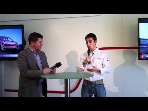 Filipe Albuquerque at Audi RS3 press-launch in Monaco