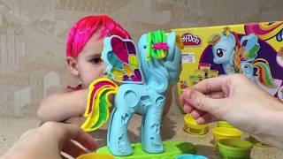 Плей До Мой маленький пони Стильный салон Рейнбоу Дэш