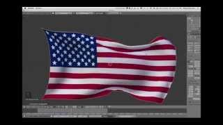 Blender Tutorial: Beginners Cloth Simulation