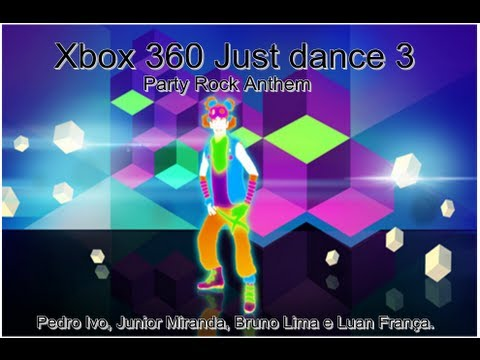 Xbox 360 Just Dance 3: Party Rock Anthem