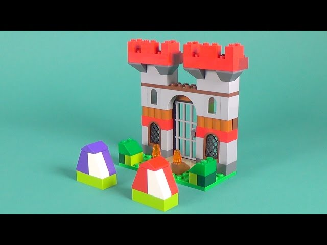 Lego Castle Building Instructions - Lego Classic 10698