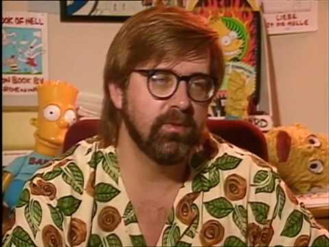 Matt Groening & James L Brooks Interview 1991 (The Simpsons)