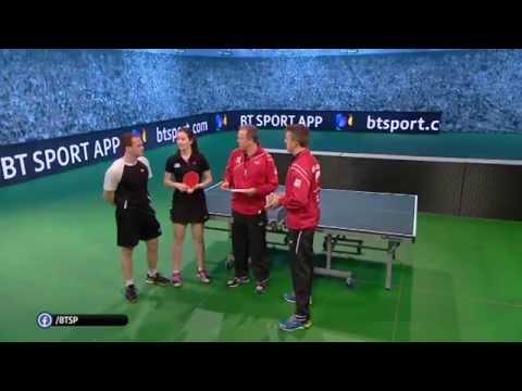 Mr & Mrs Drinkhall BT Sport Table Tennis Feature