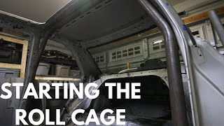 GC8 Rally Car - The Main Hoop - Subaru FIA Stage Rally Roll Cage Build