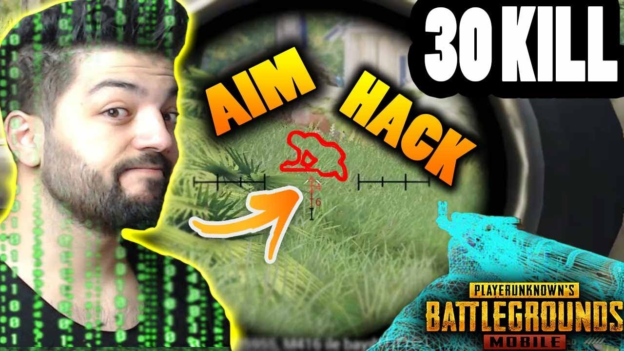 ERSİN YEKİN AİM HACK !!  30 KİLL DUO SQUAD PUBG MOBİLE