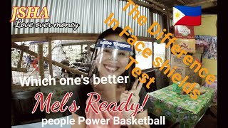 Face Shield Challenge Which one's better? People Power basketball news