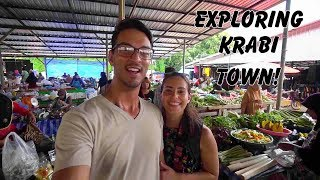 WHAT TO DO IN KRABI THAILAND - Visiting Krabi Town and Ao Nang