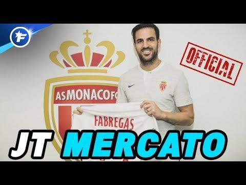 OFFICIEL : Cesc Fabregas s'engage avec l'AS Monaco   Journal du Mercato