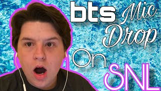 REACTING TO BTS (방탄소년단) 'MIC Drop LIVE ON SNL