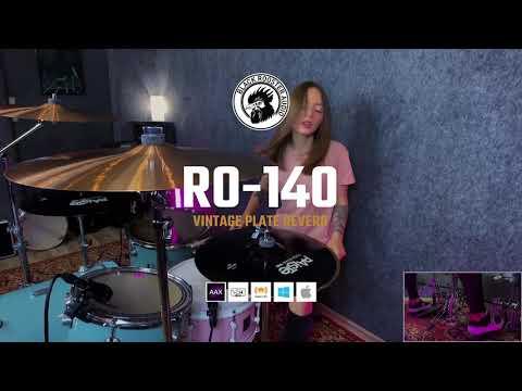Black Rooster Audio | RO-140 Vintage Plate Reverb on Drums