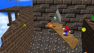 Super Mario 64 - Star Guide #19 - Red Coins on the Floating Isle