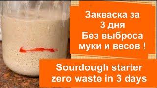 ПРОСТО Закваска для хлеба Без выбрасываний и весов