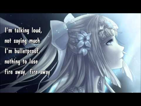 Nightcore - Titanium (Lyrics)