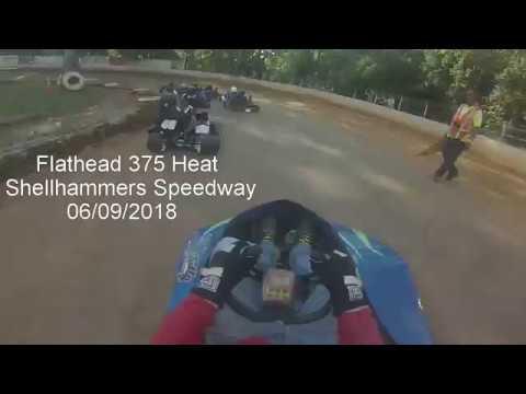 Flathead 375 Heat Race Shellhammers Speeday 06/09/2018