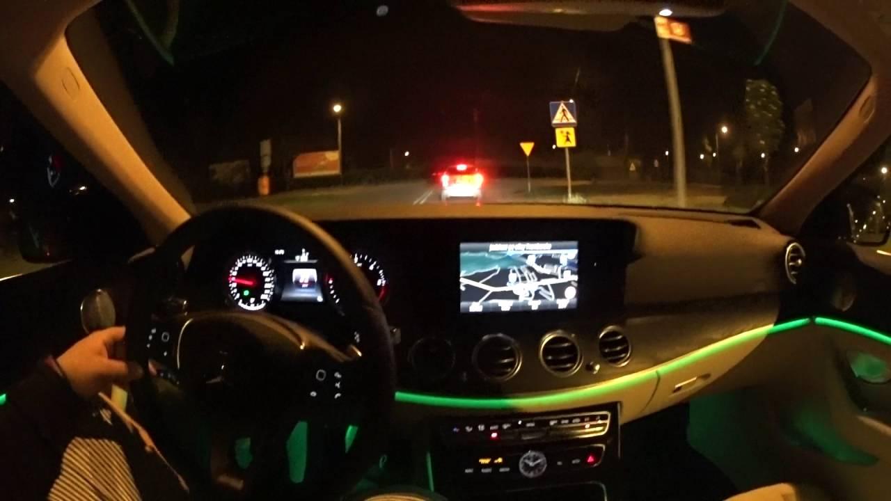 Mercedes Benz E220d W213 2016 Pov Youtube