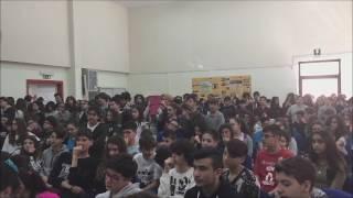 """Molfetta. Mario Cipollini alla scuola media """"Poli"""""""