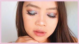Mermaid inspired eye makeup look | 2018