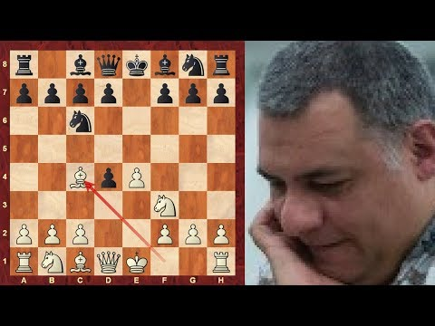Scotch Gambit leading to dreaded symmetrical pawn structure - Kingscrusher OTB game
