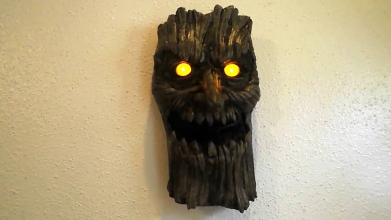spirit halloween tree door knocker 2016