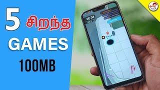 Top 5 Games 100MB (Sep 2018) | Tamil Tech