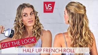 Holen Sie sich Den Look: Anspruchsvolle Locken die Hälfte Bis -, Französisch-Roll | VS Sassoon