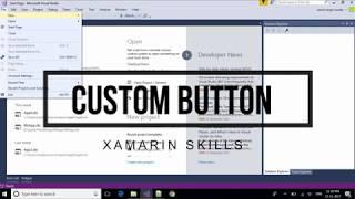 Xamarin.Forms Custom Rendered Button