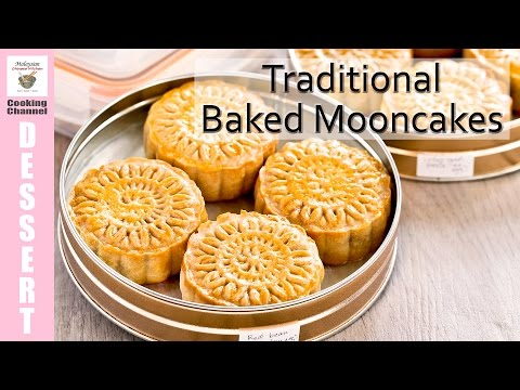 Traditional Baked Mooncakes | Malaysian Chinese Kitchen
