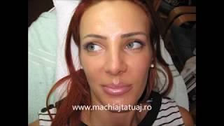 Tatuaj sprancene Zarescu Dan 0745001236 S$S  http://www.machiajtatuaj.ro
