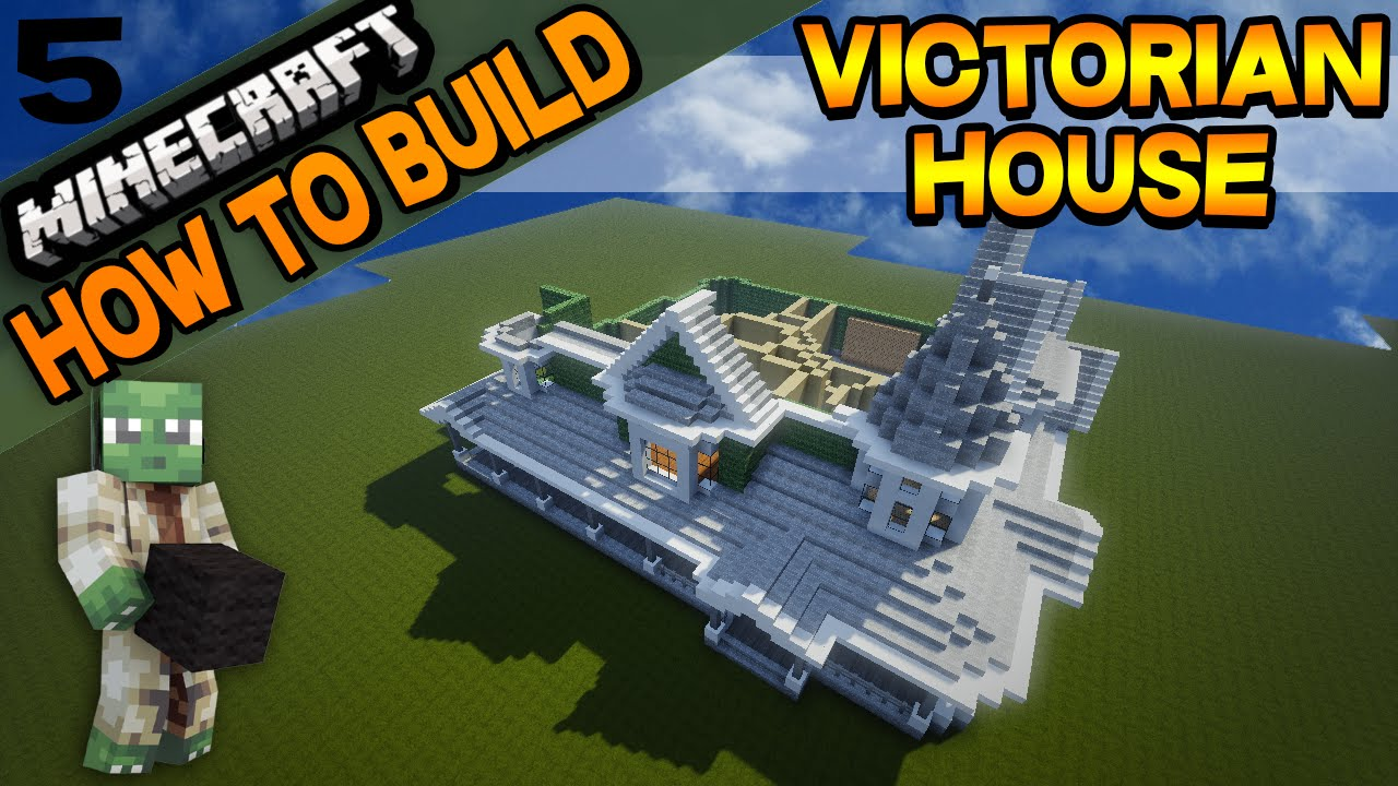 minecraft victorian house how to build e05 youtube minecraft victorian house how to build e05