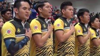 Dodgeball World Cup 2016 Men's Final Msia vs Eng
